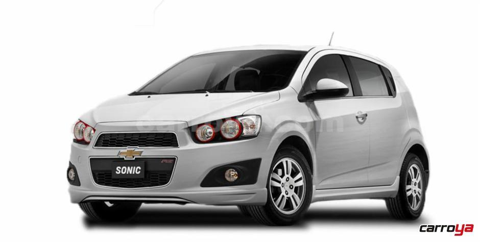 chevrolet sonic h b lt 2016 nuevo precio en colombia. Black Bedroom Furniture Sets. Home Design Ideas