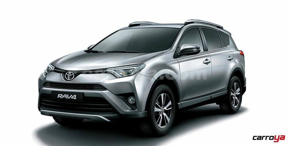 toyota rav 4 2 5 4x4 aut 2016 nueva precio en colombia. Black Bedroom Furniture Sets. Home Design Ideas