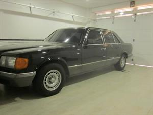 Mercedes benz Clase S 280  SEL 1982
