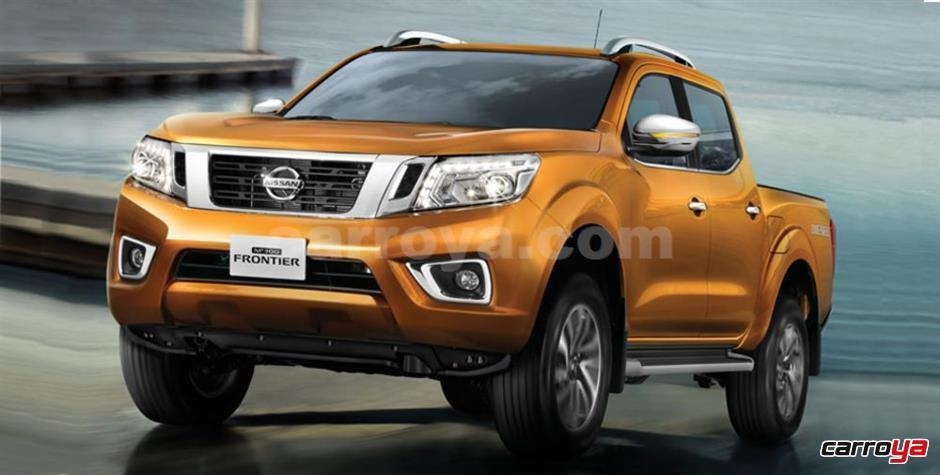 nissan frontier np300 xe turbodiesel 2017 nueva precio en colombia. Black Bedroom Furniture Sets. Home Design Ideas