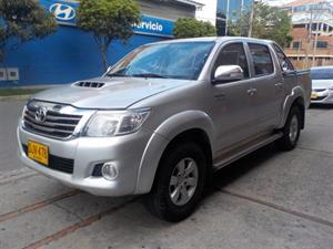 Toyota Hilux 3.0 4X4 IMV Doble Cabina Diesel Mecánica F.E 2014