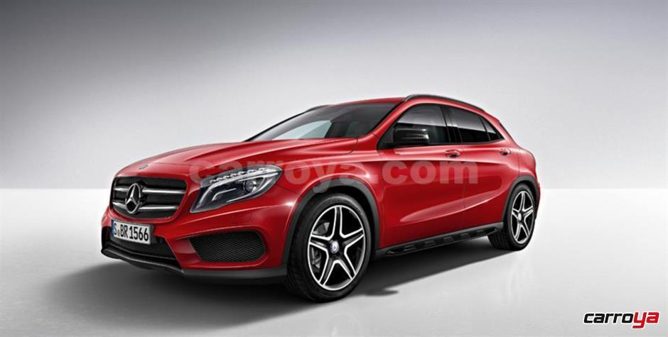 mercedes benz clase gla 200 urban 2017 nueva precio en. Black Bedroom Furniture Sets. Home Design Ideas