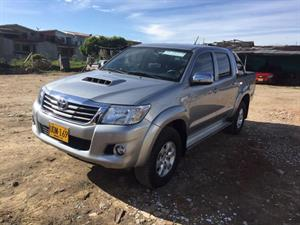 Toyota Hilux Turbo Diesel 4x4 Automatica Doble Cabina 2015