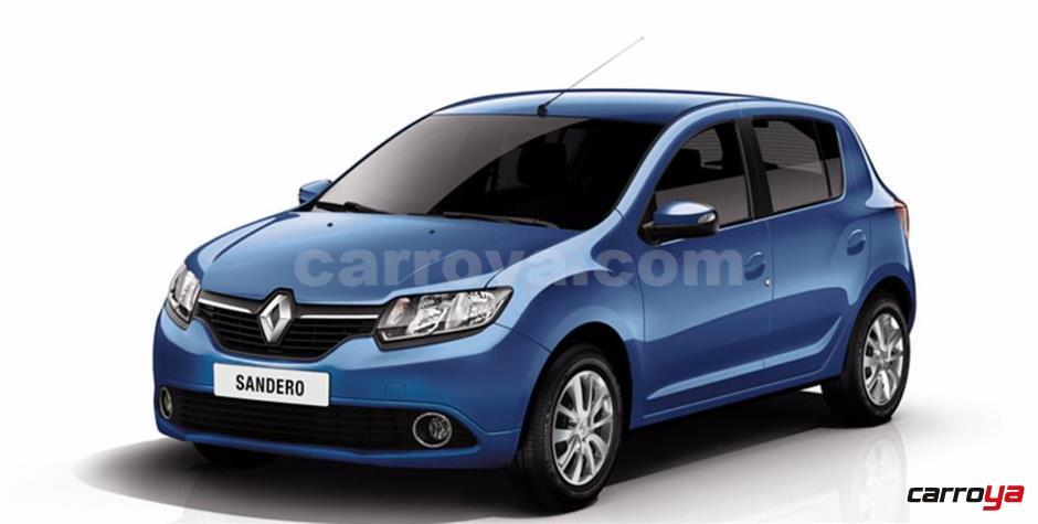 renault sandero colombia precios autos post. Black Bedroom Furniture Sets. Home Design Ideas